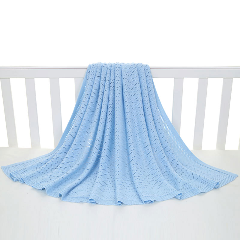 良良乐语冰丝毯(大号)125*115(cm)蓝LL16H02-2B