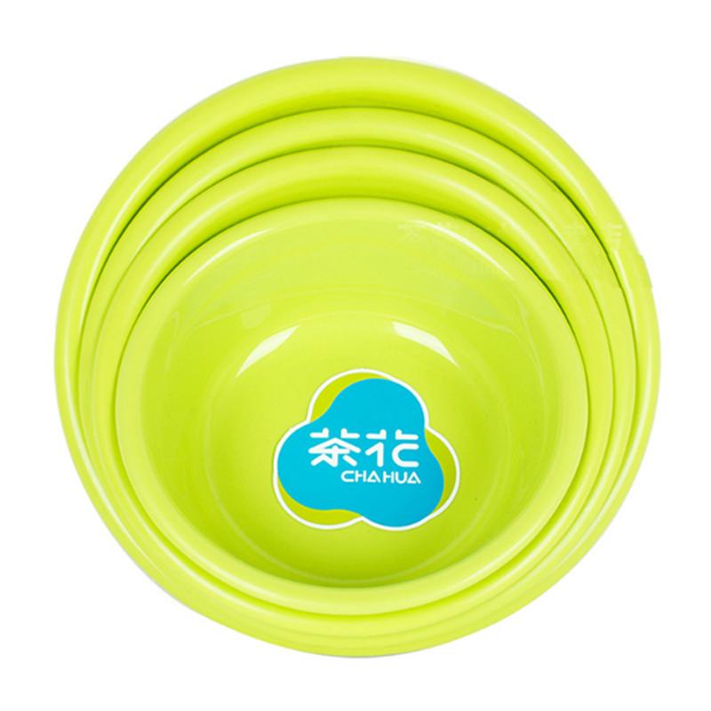 茶花豪华盆27cm/洗脸盆塑料盆/儿童多功能盆