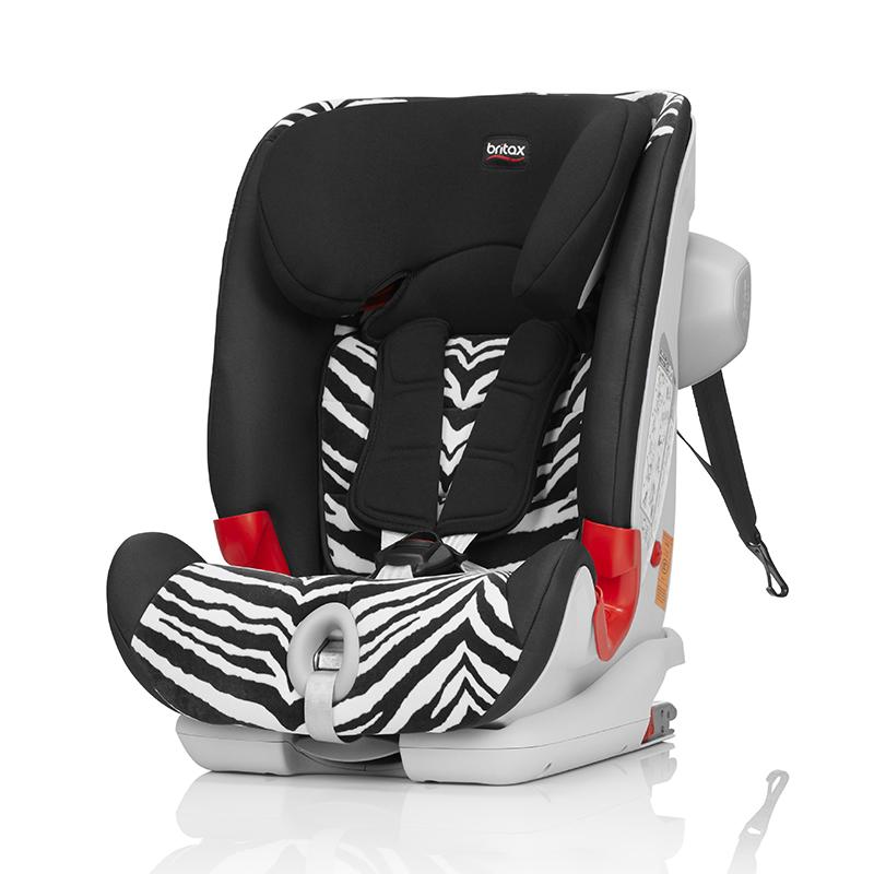 宝得适(britax)百变骑士IISICT儿童安全座椅小斑马