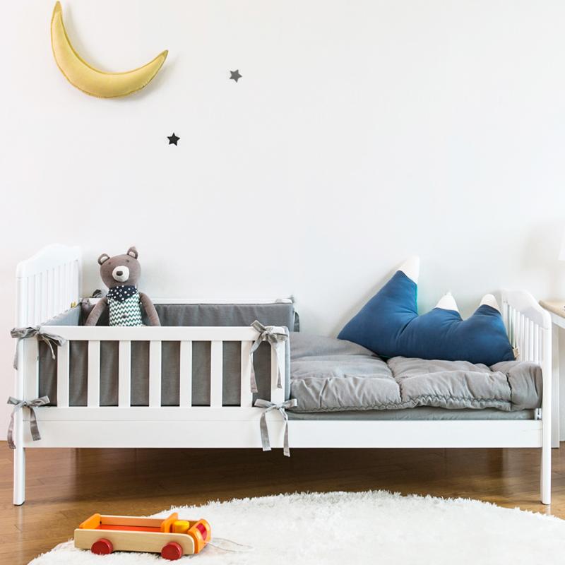 宝利源婴幼儿少年床 白色