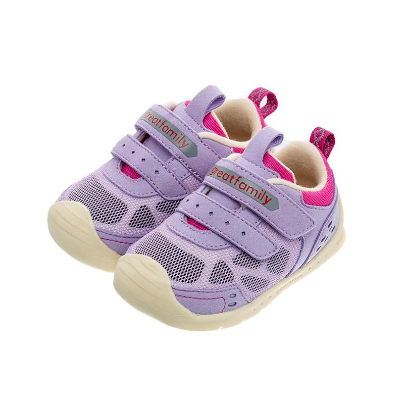 歌瑞家(greatfamily)女婴机能鞋GBS1-029SH紫色13CM双
