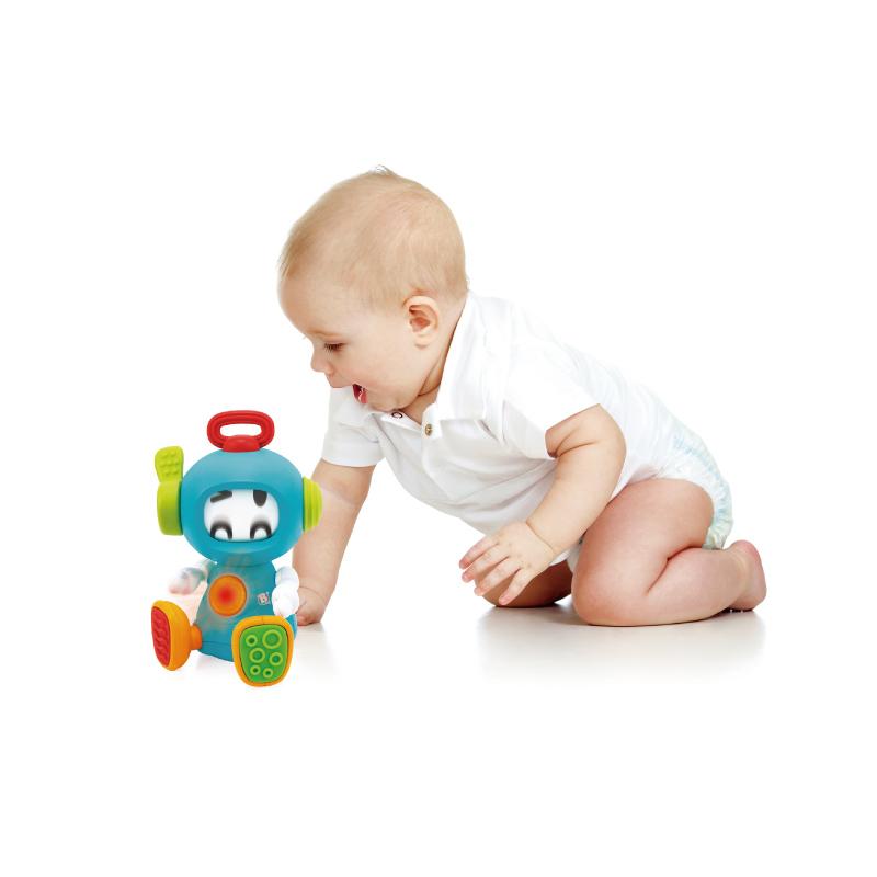 B kids 蓝盒宝宝 声光机器人 适用于6个月以上 005212