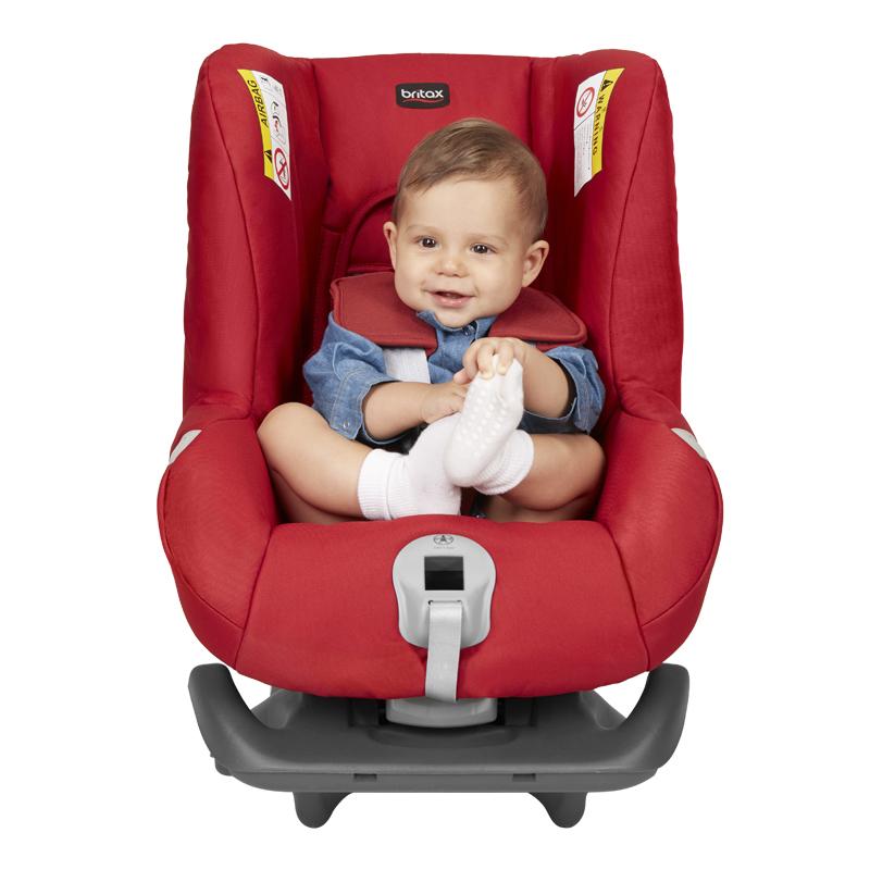 宝得适(Britax)头等舱白金版儿童安全座椅宝宝座椅热情红0-18kg