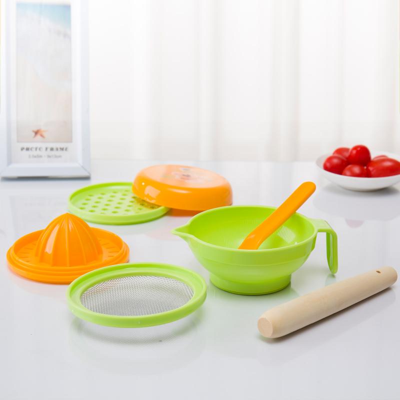 日康食物调理器组宝宝辅食料理组婴儿研磨餐具
