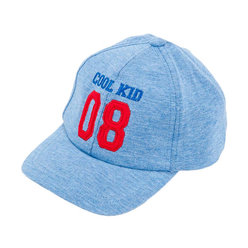 歌瑞凯儿男童棒球帽GB161-043A蓝48cm顶