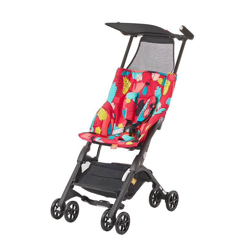 好孩子POCKIT 2-A-Q221RB型便携式婴儿口袋车 红