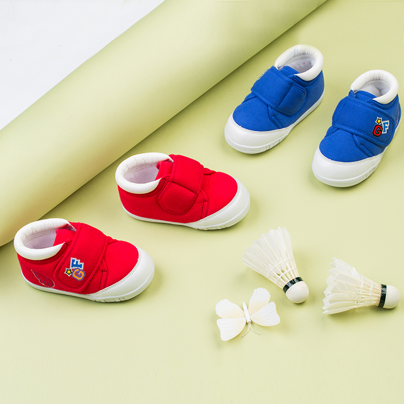 歌瑞贝儿(新)中性宝宝鞋GBR4-011SH红13CM双
