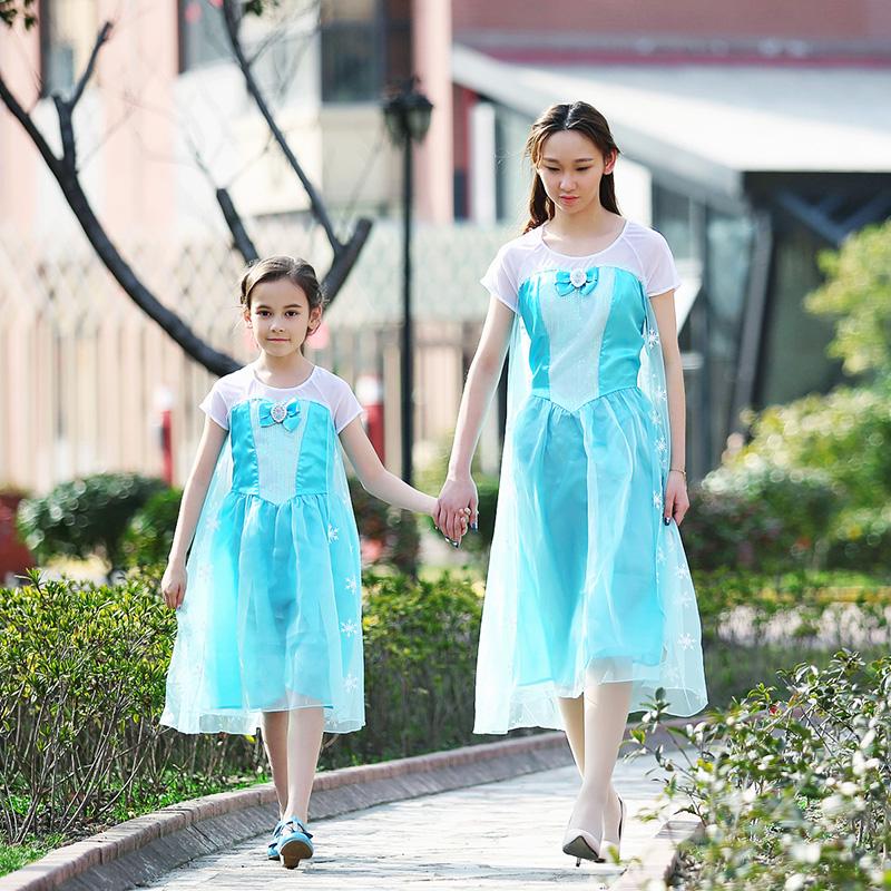 迪士尼艾莎公主冰蓝