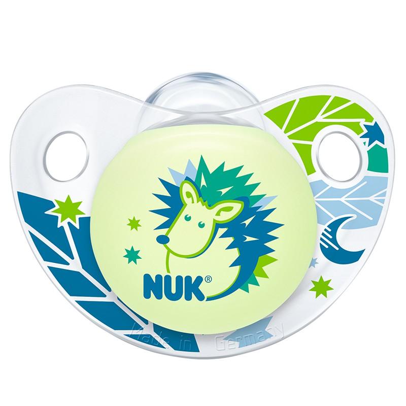 NUK夜光型硅胶安抚奶嘴(一般型)