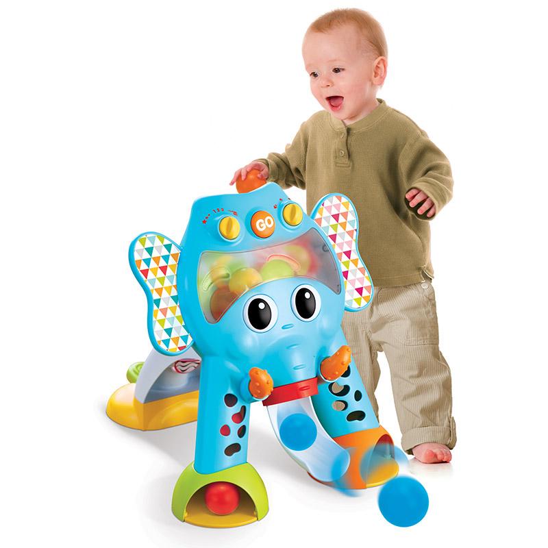 infantino 婴蒂诺 欢乐大象投篮游戏