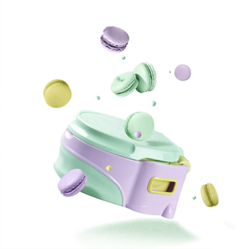 babycare8010儿童便携坐便器绿色(6-72月)