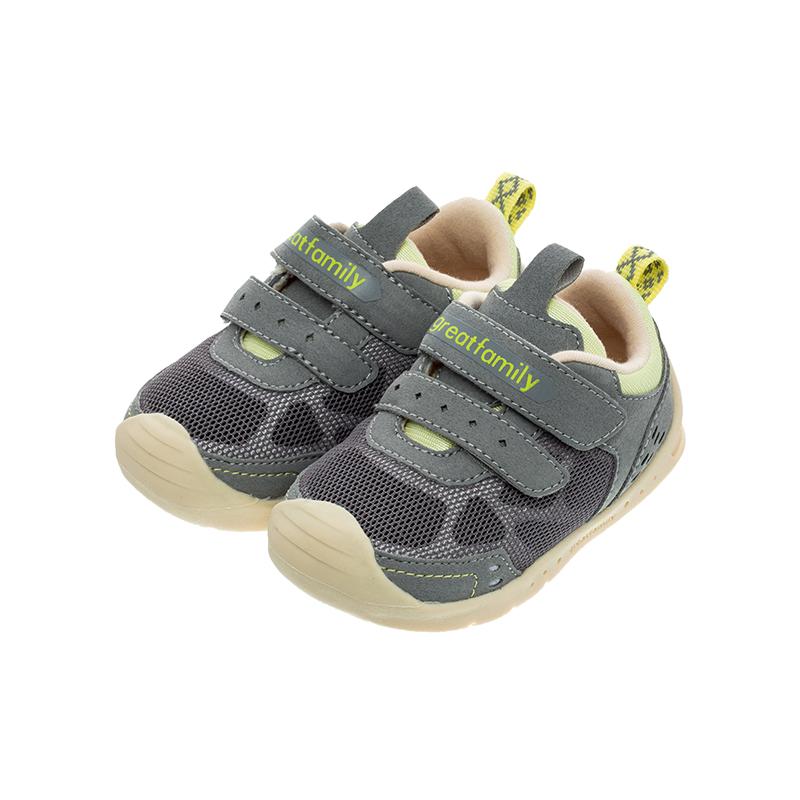歌瑞家(greatfamily)男婴机能鞋GBS1-030SH灰13CM双