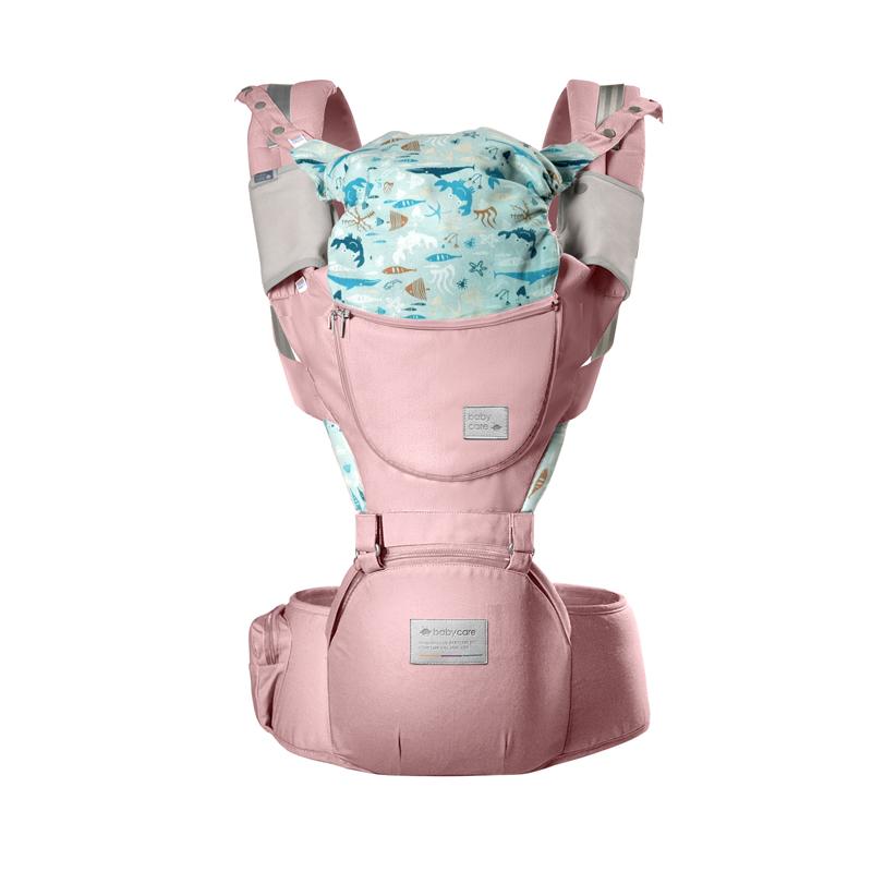 Babycare3D硅胶婴儿背带樱粉