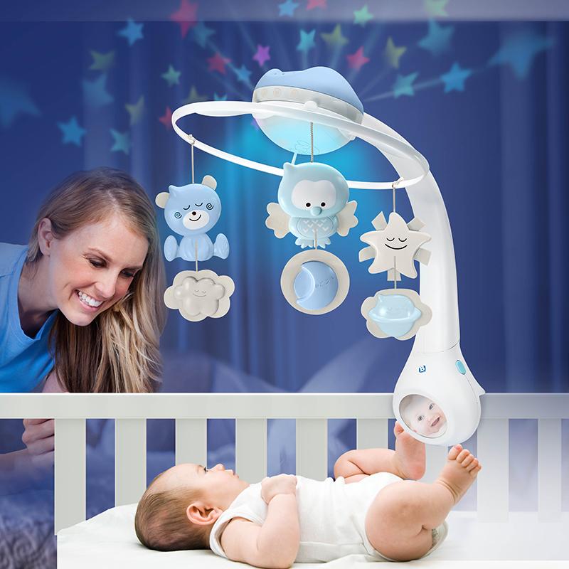 infantino 婴蒂诺三合一梦幻床铃 适用于0个月以上 004896