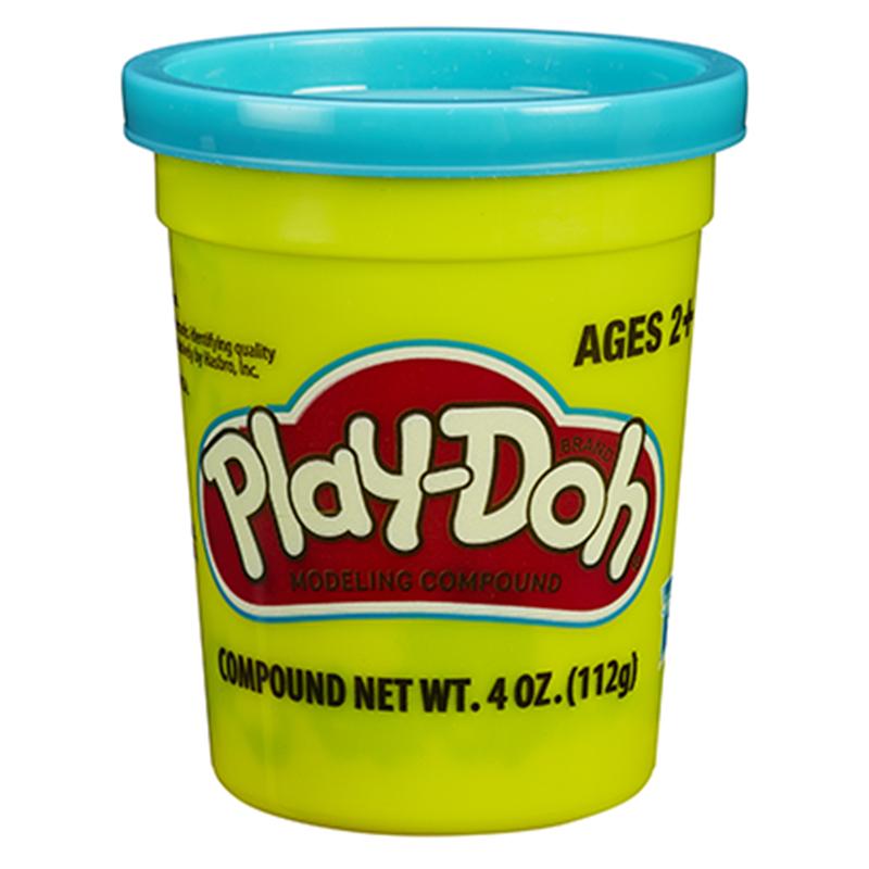 孩之宝(Hasbro)培乐多单杯装新版-青绿色