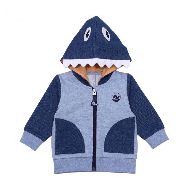 歌瑞贝儿A类男宝宝蓝色卫衣外套