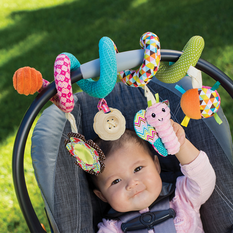 infantino 婴蒂诺 蜻蜓扭扭车挂 适用于0个月以上 216093