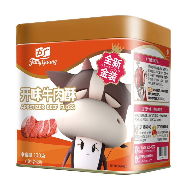 方广开味牛肉酥100g5个月以上