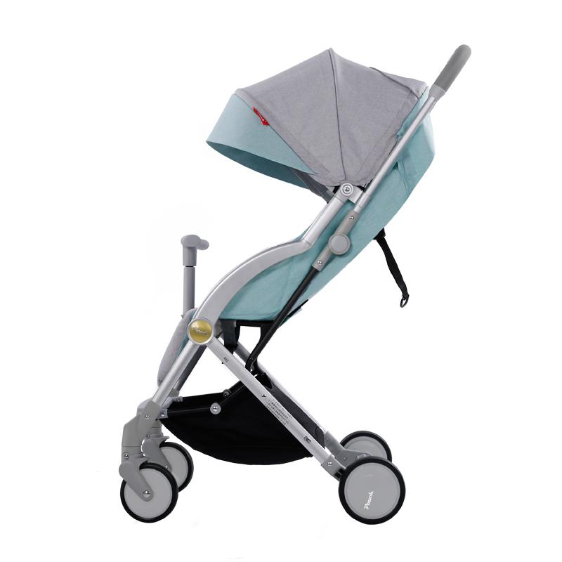 Pouch 轻便婴儿推车可坐可躺儿童折叠伞车