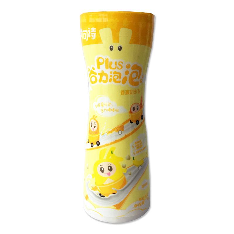 尚可诗Plus谷力泡泡 香蕉奶米豆75g