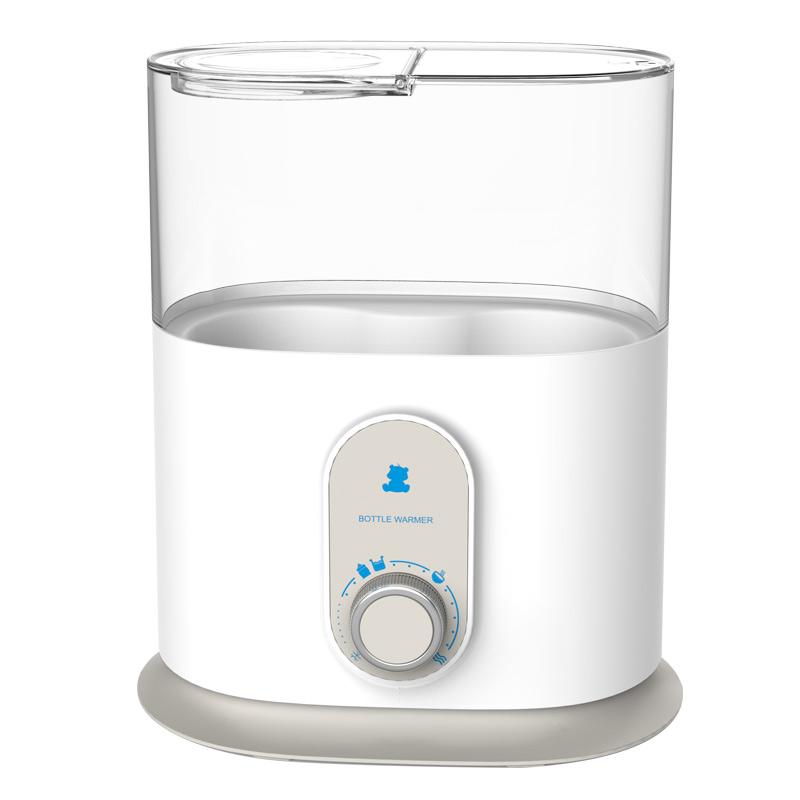 小白熊双瓶暖奶器5分钟速热暖奶暖辅食持久恒温蒸汽消毒双奶瓶暖奶