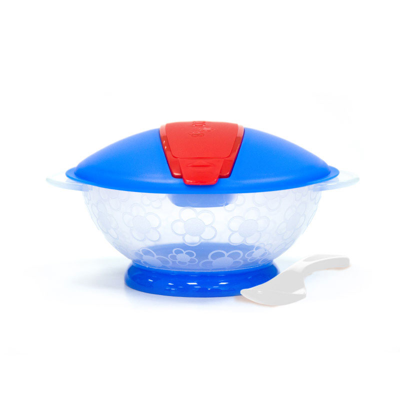 乐儿宝BOBO盖顶盖便携碗9月以上颜色随机