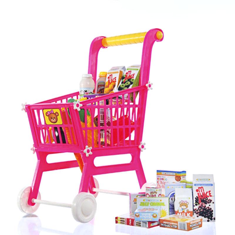 星月超市自选车过家家玩具情景玩具