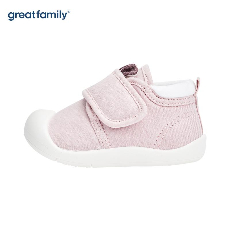 歌瑞家(greatfamily)女婴休闲宝宝鞋GBS4-018SH紫色