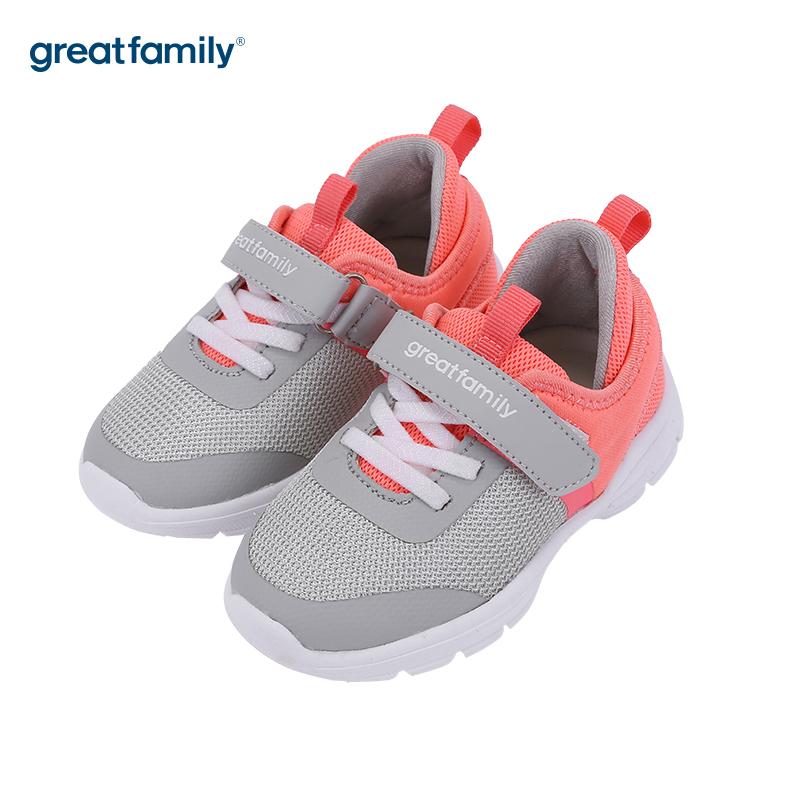 歌瑞家(greatfamily)女婴运动鞋GKS3-004SH灰