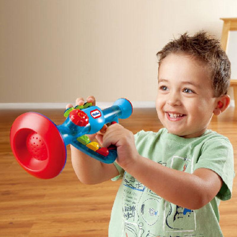 Littletikes美国小泰克敲击乐喇叭培养乐感