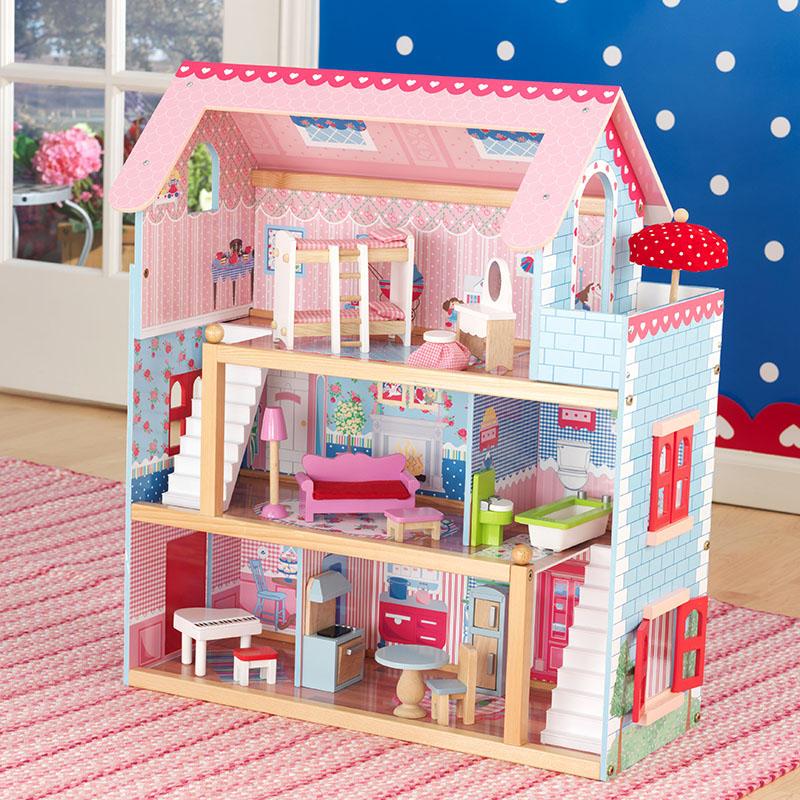 KidKraft切尔西玩偶小屋