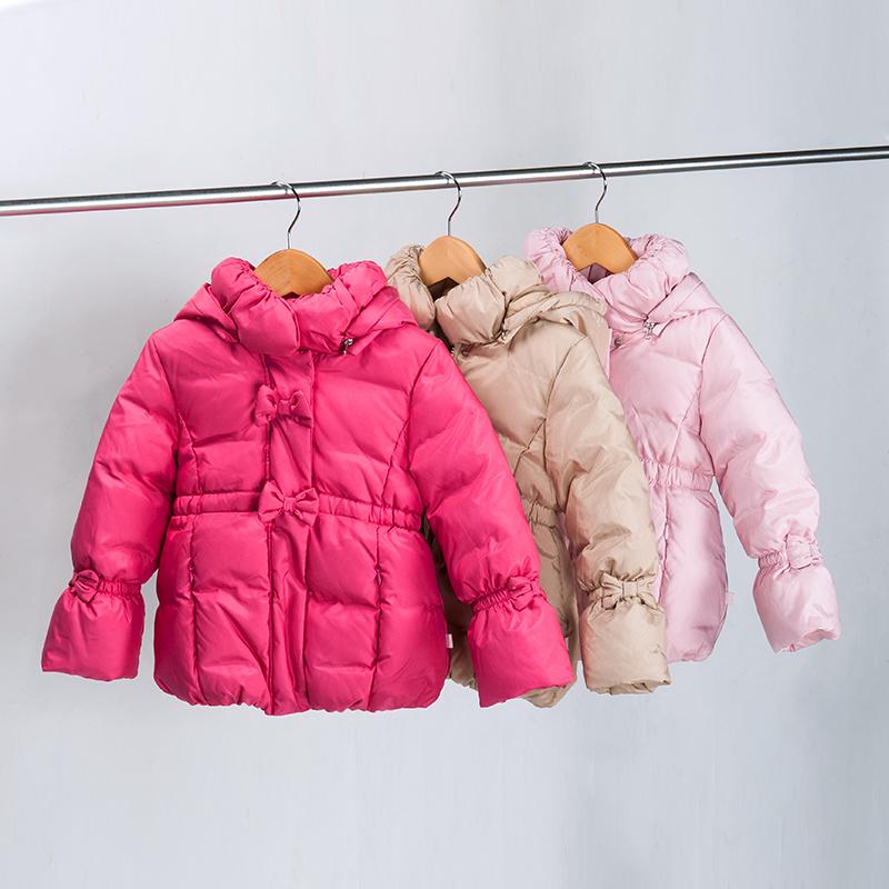 歌瑞凯儿A类女童炫彩超暖羽绒服一款三色