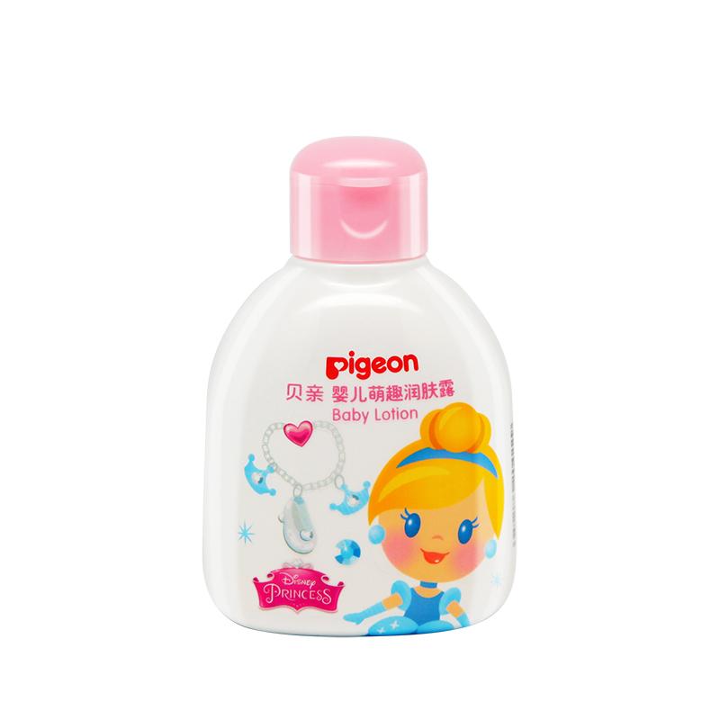贝亲(pigeon)-迪士尼婴儿萌趣温和滋润润肤露120ml(Q版公主)