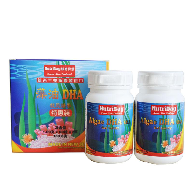 纽奇贝慧DHA藻油凝胶糖果(特惠装)65.4*2