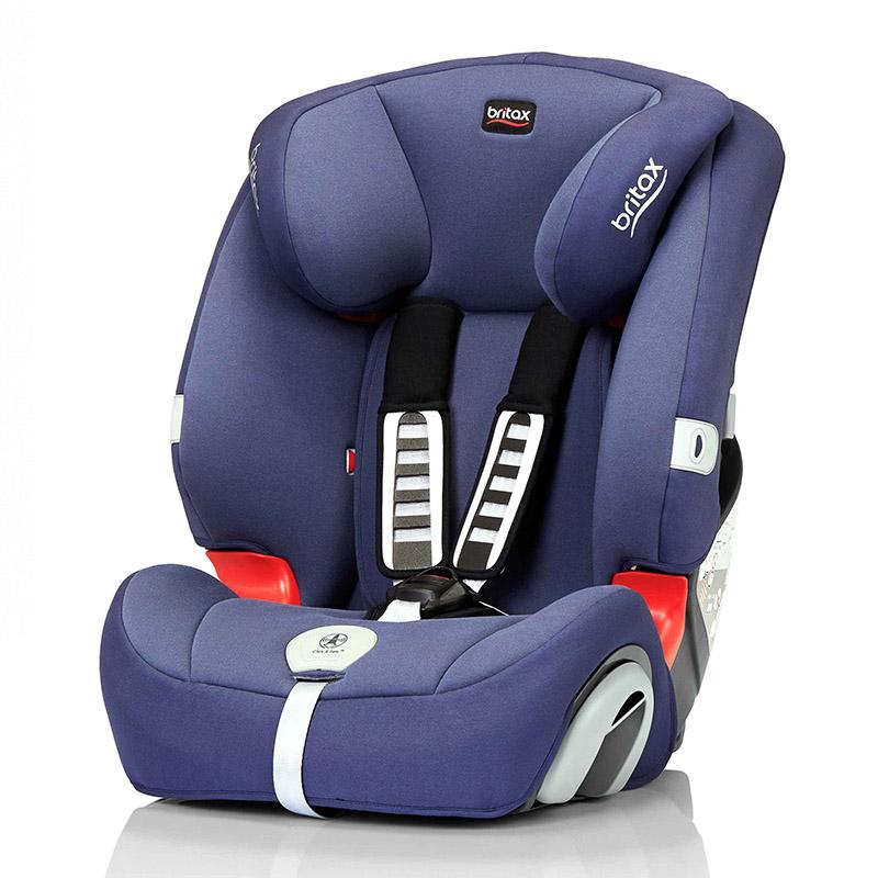 宝得适(Britax)超级百变王白金版儿童安全座椅宝宝座椅皇室蓝9-36kg