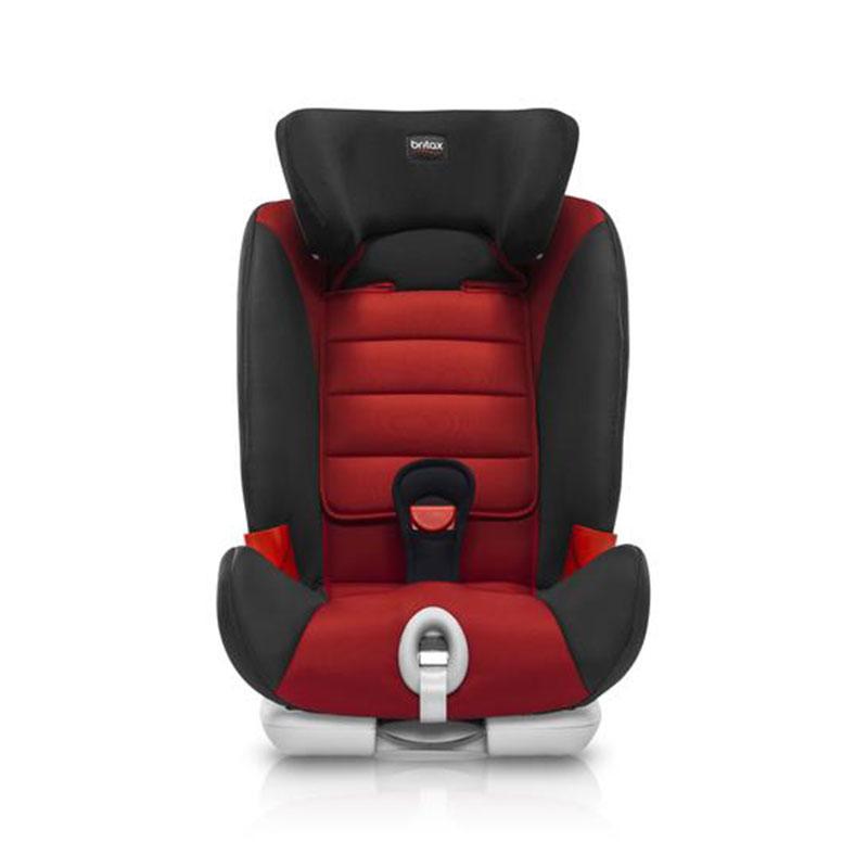 宝得适(Britax)汽车用儿童安全座椅宝宝座椅宝宝百变骑士isofix辣椒红9-36kg