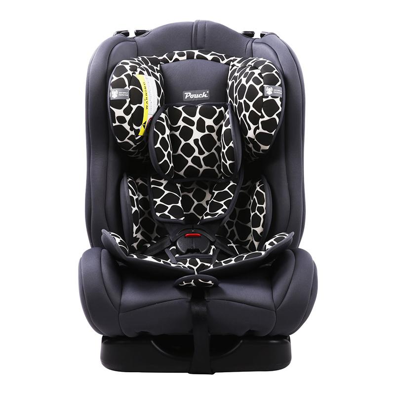 Pouch适用0-4-6岁宝宝便携式儿童安全座椅Q18-1黑色