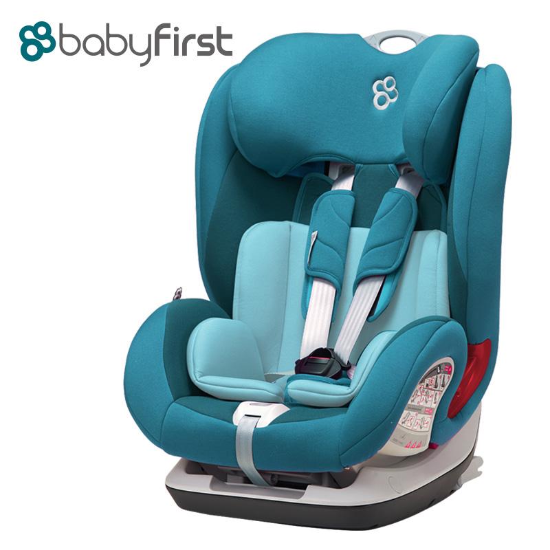 宝贝第一(Babyfirst)儿童汽车安全座椅宝宝座椅V505A铠甲舰队尊享版宝塔蓝