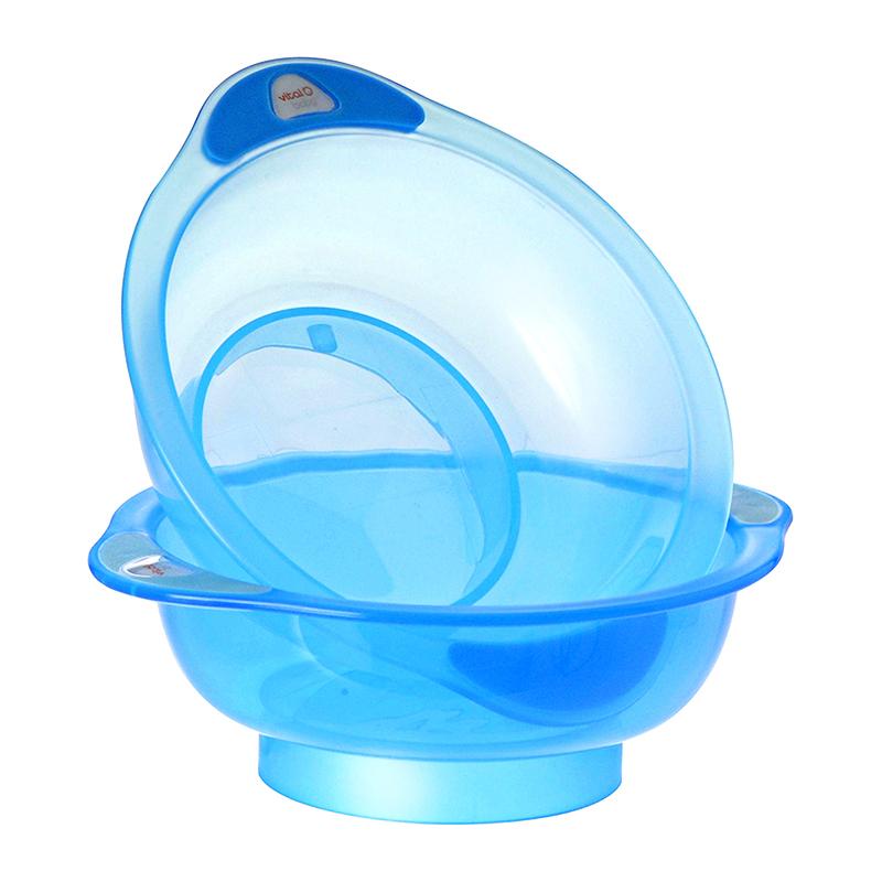 英国韦特儿--无底座餐碗(可配防滑底座)(蓝色)2支/盒