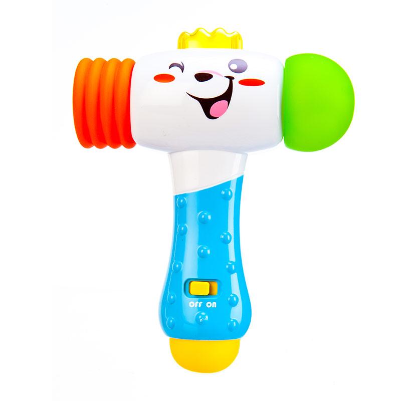 澳贝探索电子锤子463463宝宝婴儿童音乐敲打玩具