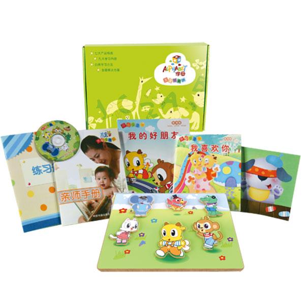 字母米卡--幼儿早教套装(1-2岁)(第一期)