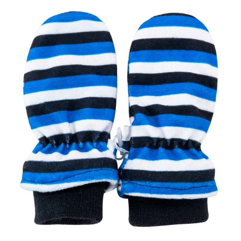 歌瑞家男童条纹手套