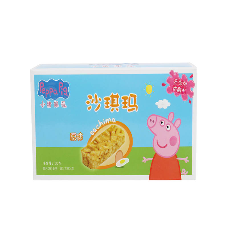 小猪佩奇(食品)--沙琪玛(原味)120g