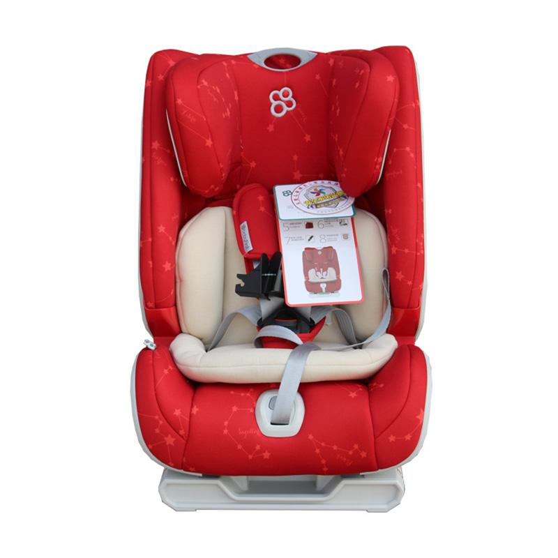 宝贝第一(Babyfirst)儿童安全座椅宝宝座椅海王盾舰队钻石版星座红R501A