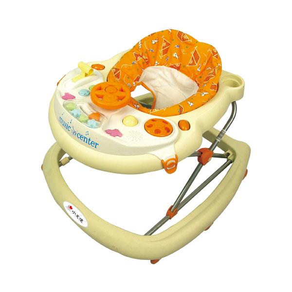 小天使学步车1101轻便灵巧8轮设计装卸简易可拆式玩具架6至18个月