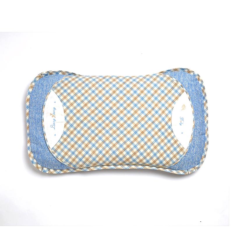 格彩婴幼儿专用枕5号蓝色L码