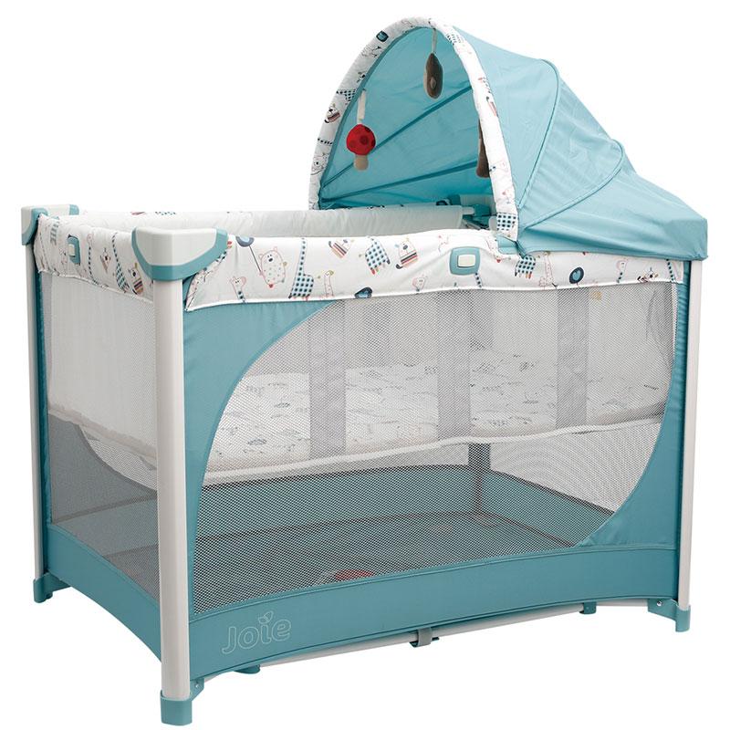 巧儿宜(Joie)Adina实用型折迭式游戏床(长颈鹿)