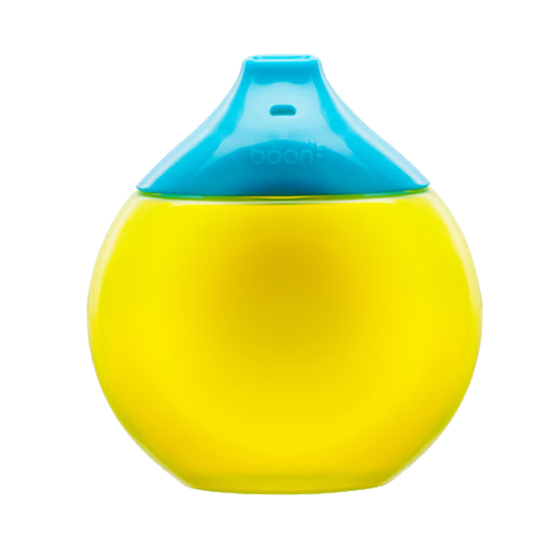 Boon啵儿环形鸭嘴学饮杯蓝色/绿色(12月以上)1个