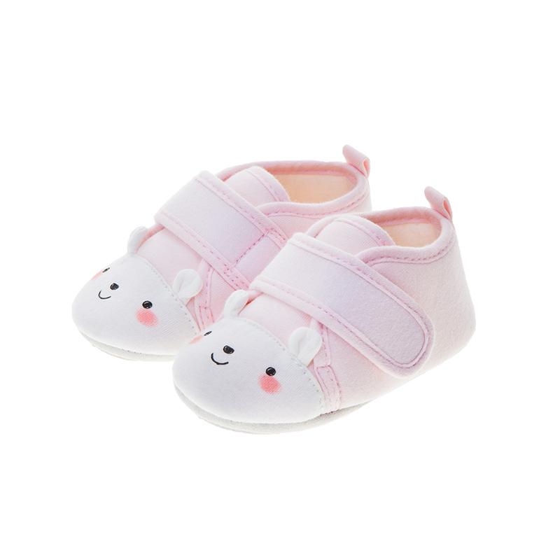歌瑞贝儿(新)女婴可爱动物宝宝鞋GB183-001SH粉13CM双