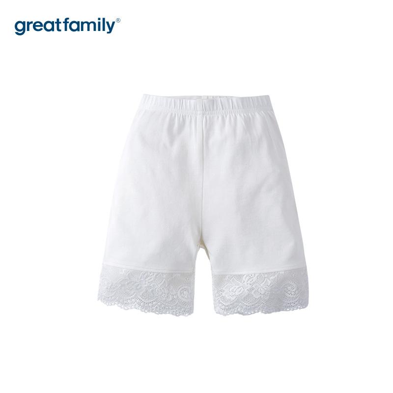 歌瑞家A类可爱精灵白色女童安全裤